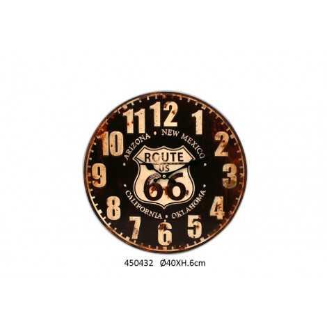 Horloge vintage route 66