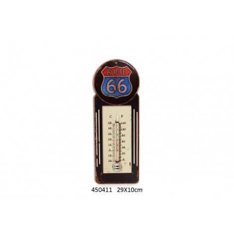 Thermomètre vintage route 66
