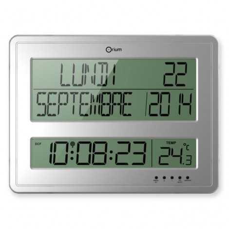 Horloge calendrier Grands...