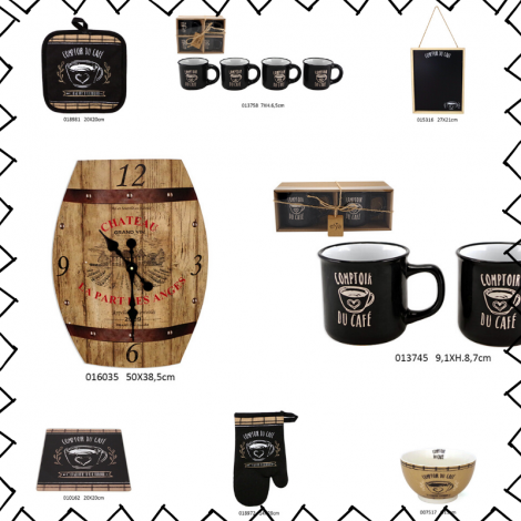 collection comptoir de café