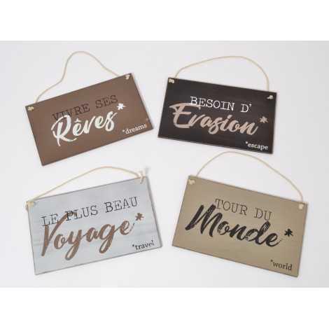 pancarte en bois ballade