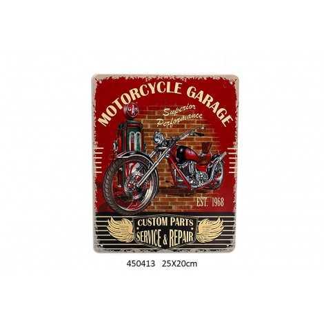 Plaque déco Motorcycle