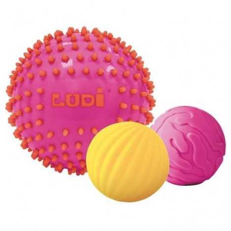 LUDI 3 Balles Sensorielles...