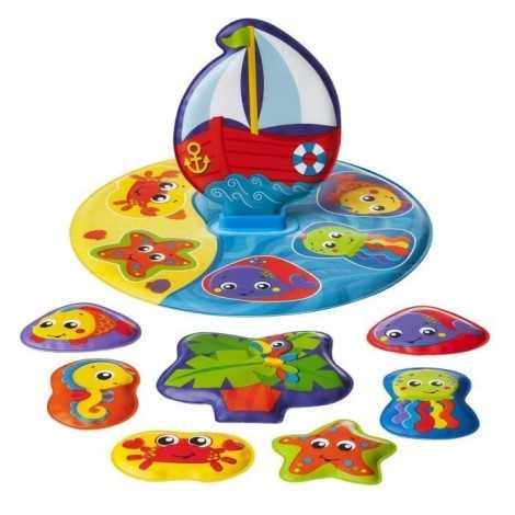 TIGEX Puzzle de bain L'île...
