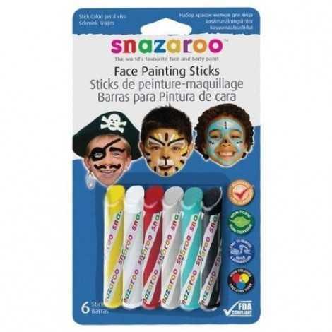 SNAZAROO Sticks peinture...