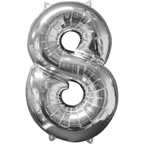 AMSCAN Ballon chiffre 8  51...