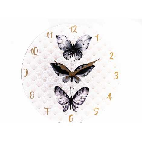 Horloge papillon collection...