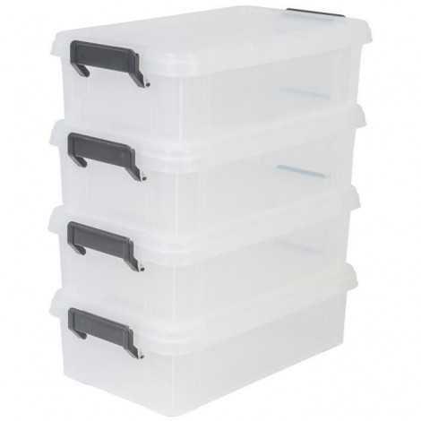 IRIS OHYAMA Lot de 4 boîtes...