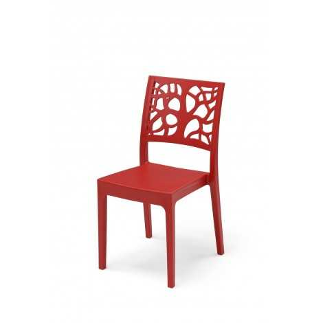 Chaise Maori Rouge