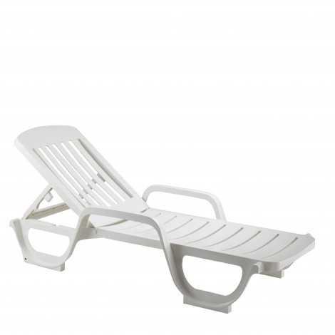 Bain de soleil Miami Blanc,...