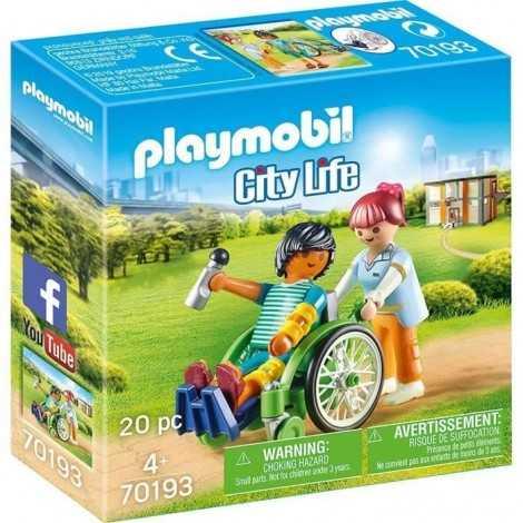 PLAYMOBIL 70193 Patient en...
