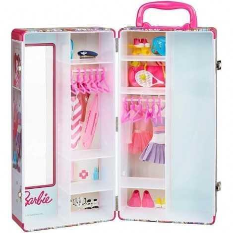 BARBIE Mallette armoire...