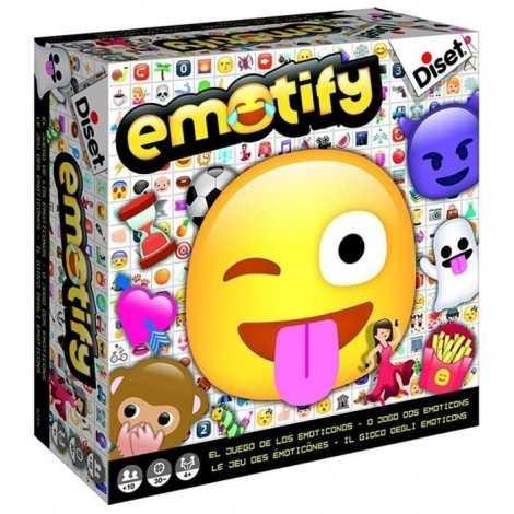 DISET Emotify Jeu de Société