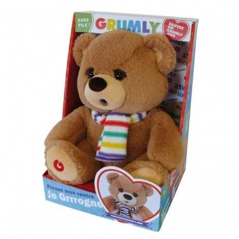 GRUMLY Peluche ours / 32 cm
