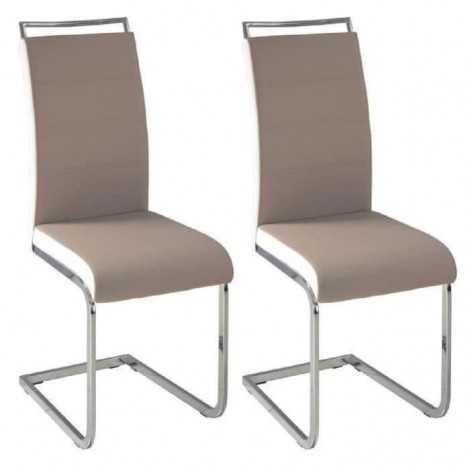 DYLAN Lot de 2 chaises de...