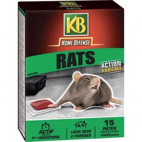 KB Raticide en pâtes prets...