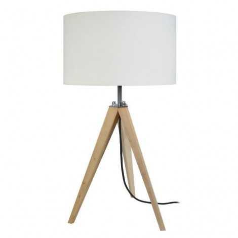 IDUN Lampe a poser en bois...