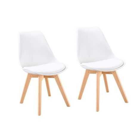 BJORN Lot de 2 chaises de...