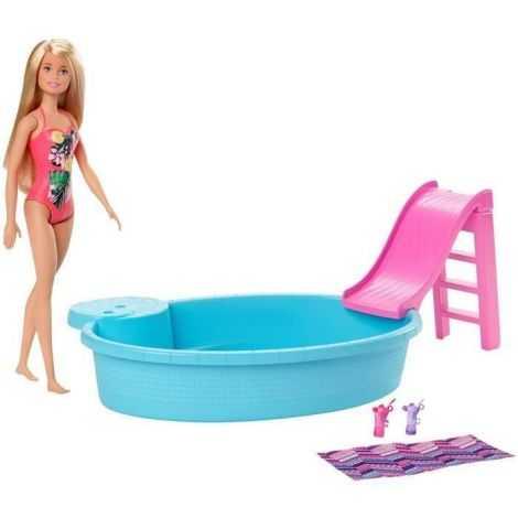 BARBIE Barbie et sa Piscine...
