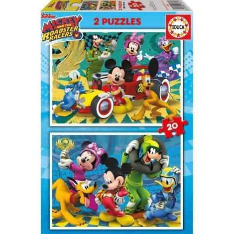 MICKEY Puzzle Lot de 2...