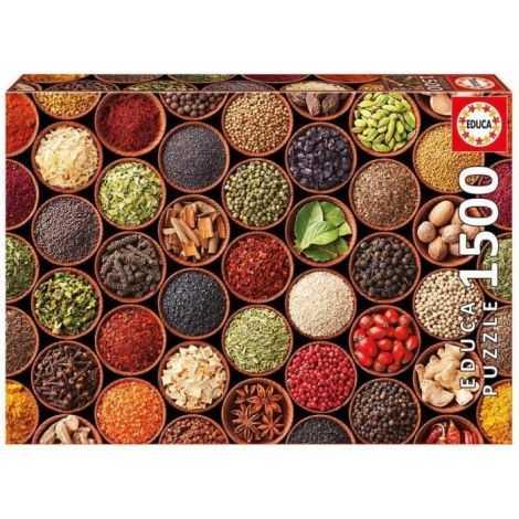 EDUCA Puzzle 1500 Épices Et...