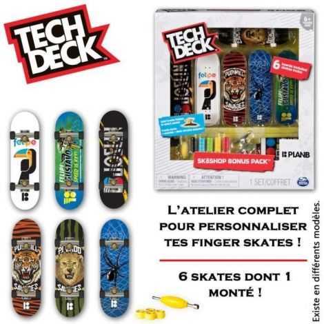TECH DECK Skate Shop Bonus...