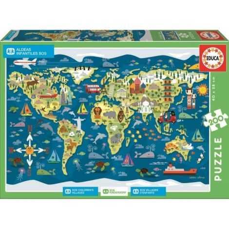 EDUCA Puzzle 200 Sos...