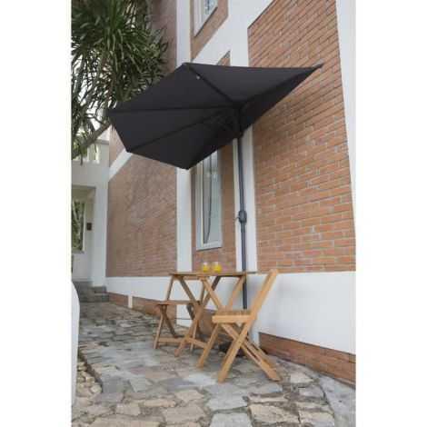 Parasol de balcon en métal...