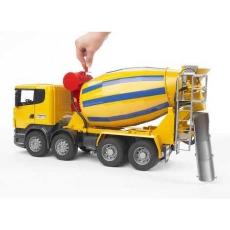 BRUDER 3554 Camion toupie...