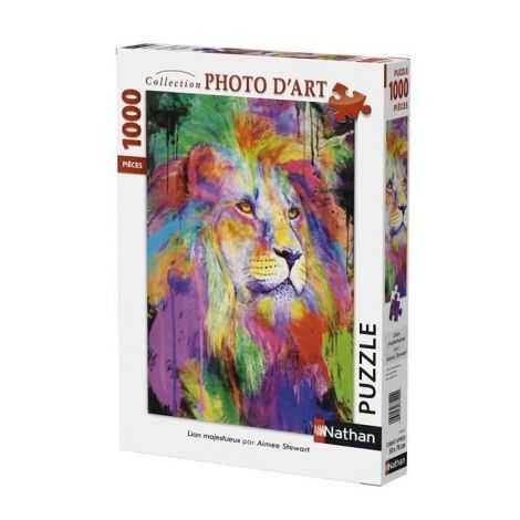 Puzzle Lion Majestueux 1000...
