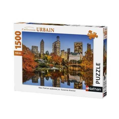 Puzzle New York en Automne...