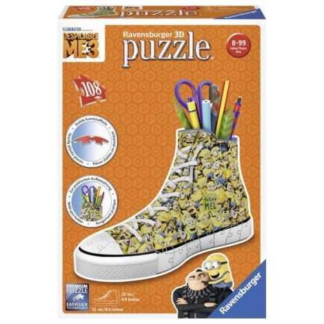 MOI MOCHE ET MECHANT Puzzle...