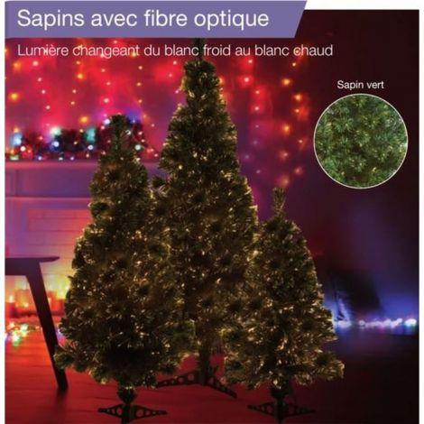 Sapin vert de Noël en PVC...