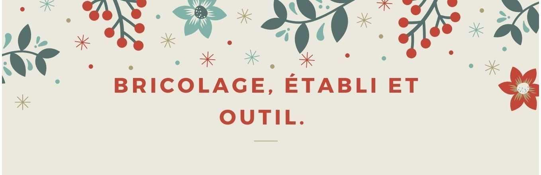 BRICOLAGE - ETABLI - OUTIL
