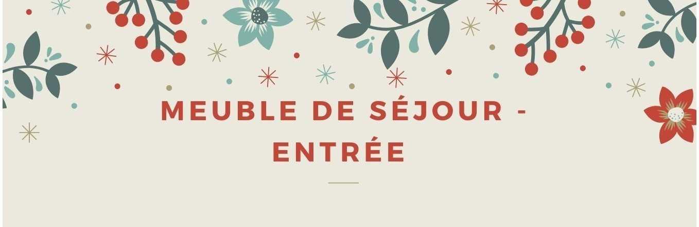 MEUBLE DE SEJOUR - ENTREE